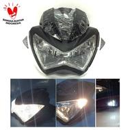 👍🆓✅ Replika Headlamp Batok Z250 Vixion Byson Scorpio CB150R Verza Mega Pro SEDIA JUGA Lampu motor depan putih terang - Lampu motor led super terang - Lampu motor led - Lampu motor depan - Lampu motor variasi