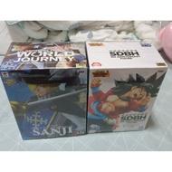 航海王 海賊王 未拆 金證 正版 七龍珠 寬盒 騎士裝 香吉士 孫悟空 超級賽亞人 超4 公仔 禮物 收藏 生日 娃娃機