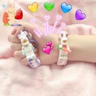 🚀火箭兔🐇編織手繩 樂高積木 情侶 可調節手環 網紅款 巴斯光年兔子 可愛禮物