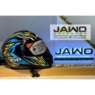 EVO HELMET VXR4000 SIGMA MODULAR AND DUAL VISOR HELMET WITH FREE CLEAR LENS AND HELMET BAG