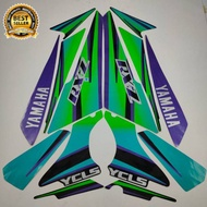 Striping Yamaha Rx Z Rxz Blue 1996 List Of The Best Quality Standard Motorcycle Stickers Ter Cheap
