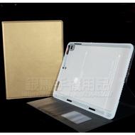 Apple iPad Air2 9.7吋 共用版 Hanman 帶筆槽 真皮皮套/翻頁式側掀保護套/插卡平板套