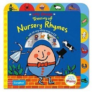 Lucy Cousins Treasury of Nursery Rhymes: Big Book of Nursery Rhymes and CD(20 rhymes)給寶寶的童謠押韻書(附CD)(外文書)