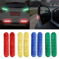 1 pair of car reflective stickers drip reflective warning stickers door anti-collision stickers drip reflective stickers