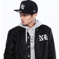 NewEra紐亦華 新MLB棒球帽男女NY洋基LA道奇帽平沿調節嘻哈帽