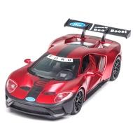 收藏首選 Ford GT 福特GT合金汽車模型 高仿真模型汽車 兒童玩具 汽車玩具 模型車 兒童玩具