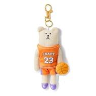 【CRAFTHOLIC 宇宙人】籃球選手熊吊飾(運動系列限定款)