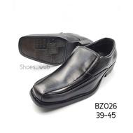 CSB รองเท้าคัชชูหนังผู้ชาย BZ026 ดำ ไซส์ 39-45