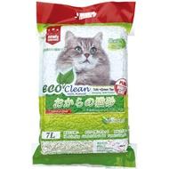 『WANG』【6包組+送貓餐包x1+免運】《ECO艾可豆腐貓砂-原味|綠茶|玉米》7L/包 貓砂 環保 除臭