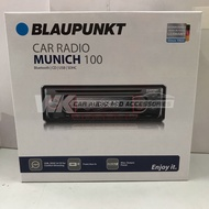 BLAUPUNKT MUNICH 100 FM/CD/USB/SD/BLUETOOTH SINGLE DIN PLAYER