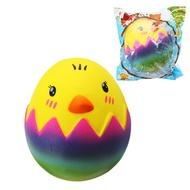 SquishyShop Egg Chick Toy 8cm Slow Rising With Packaging Collection Gift Soft Toy