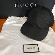 GUCCI 帽子。  黑色( 正版 )