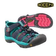 CodEX= KEEN NEWPORT 編織彈性綁繩護趾包頭涼鞋(藍綠灰)1012316 拖鞋 SANDALS 大童 女