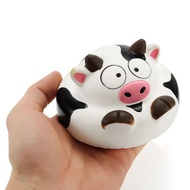 Squishy Cow 10cm Slow Rising Animals Collection Gift Decor Soft Squeeze Toy