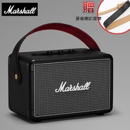 Marshall Kilburn II Bluetooth 攜帶式藍牙喇叭-黑色