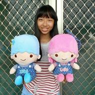 雙子星娃娃~KiKiLaLa 高30公分 雙子星玩偶 kikilala娃娃~正版三麗鷗~kiki娃娃 lala娃娃