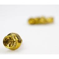 YAYAMIN Bolts (1 Piece) 5x15 Flower Type Gold Body Bolts For Fairings Tags: Yayamanin | Gold Bolts | Heng Bolts | Thai Look
