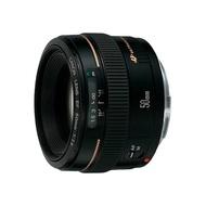 Canon EF 50mm F1.4 大光圈標準定焦鏡 人像鏡 公司貨 贈UV+清潔5件組