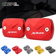 NEW Fluid Reservoir Cover For YAMAHA XMAX 300 XMAX300 2017 2018 2019 Motorcycle Accessories Brake Fluid Tank Cap