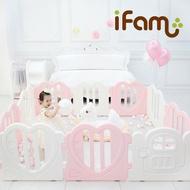 韓國【Ifam】心心圍欄-粉紅白搭(遊戲圍欄/遊戲城堡) _好窩生活節