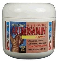 (Interfarma - Human) Artrosamin Cream with Glucosamine 8 oz-