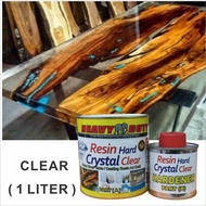 1L RESIN EPOXY 🔥 HARD🔥 Epoxy Resin AB Glue RESIN Hard PVC Resin High Quality Crystal Ultra Clear Transparent Paint Mold