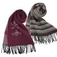 Vivienne Westwood 時尚骷髏圖騰圍巾(多款可選)