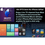 IPTV IOS IPAD 8K VOD + FAST ACTIVATION
