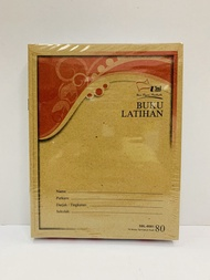 80PAGES BUKU LATIHAN SINGLE LINE EXERCISE BOOK 80PAGES (10BOOKS)