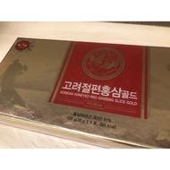 全新購於樂天免稅店韓國高麗人蔘切片6年蔘-RED GINSENG SLICES 紅參切片 100g