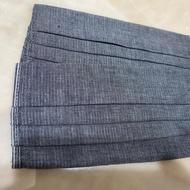 日系灰色 素色&條紋 ✔️超薄✔️透氣✔️二重紗✔️手作 口罩套 布口罩套 😷 二重紗口罩套成品