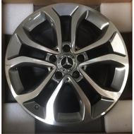 賓士W205 17吋原廠鋁圈一套