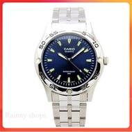 Casio นาฬิกาข้อมือผู้ชาย สายสแตนเลส รุ่น MTP-1243D-2AVDF