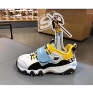 斯凱奇童鞋 Skechers海賊王 輕便 舒適 厚底鞋 魔術貼 熊貓運動鞋