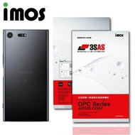 【iMOS 3SAS】SONY Xperia XZ Premium(疏油疏水 背面保護貼)