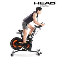 HEAD海德 H796 20KG後驅式磁控飛輪車 鑄鐵飛輪健身車 6顆強力磁石 公路車 有氧單車運動