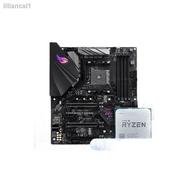 主機板現貨✳▲﹊AMD銳龍 R5 2600/R7 2700/3700X散片搭華碩B450  主板CPU電競套裝