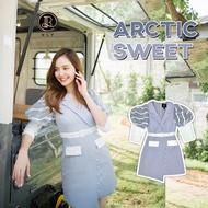 BLT BRAND เสื้อผ้าแบรนด์แท้การันตี เดรสสีฟ้า Arctic Sweet