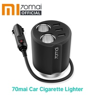 Xiaomi 70mai Car Cigarette Lighter Socket Splitter USB Car Auto Power Adapter Car Charger Car Plug