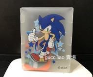 塑膠 卡片收納盒 / 名片收納 (SEGA非賣品) 適用 偶像學園 鋼彈 遊戲王 甲蟲王者 機甲英雄 遊戲卡