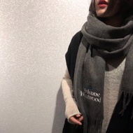 【Fashion City】Vivienne Westwood 2018ss 素面百搭羊絨圍巾三色