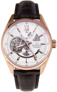 ORIENT STAR SDK05003W0 Classic Automatic Skeleton Rose Gold Power Reserve Watch