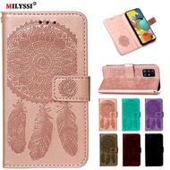 A51 5G Case Leather Wallet Flip Case For Samsung Galaxy A51 5G Cover Coque Etui For Samsung Galaxy A51 5G Flip Cover Case Funda