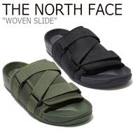 IMPACT The North Face Slide 黑 軍綠 魔鬼氈 輕便 涼鞋 拖鞋 北臉 北面 NS98L16J