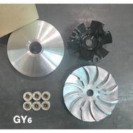 GY6 改裝 普利盤 鋁風葉 普利珠 前驅動組 ( G3 G4 奔騰 V2 GP GP2 迪爵 豪邁 飛盤 傳動 前組