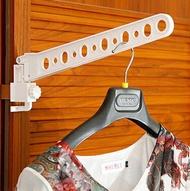 [現貨] 萬用折疊窗框曬衣架 摺疊衣架 雨天室內可用《單入》《SUPER SALE 樂天雙12購物節》