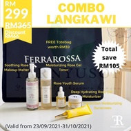 💥 💥 HOT ITEM FROM FERRAROSSA HQ - COMBO LANGKAWI SKINCARE SET!! 💥WHILE STOCK LAST WITH FREE TOTE BAG LIMITED EDITION