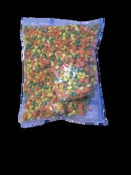 【小可生鮮】混四色1公斤 紅蘿蔔丁 青豆仁 玉米粒 馬鈴薯丁 混和四種蔬菜 四色豆 四色蔬菜 冷凍四色豆 冷凍四色蔬菜