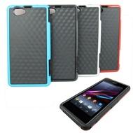 Y1精研款 Sony Xperia Z1(C6902,C6903,L39H) 5吋手機果凍套(加贈螢幕保護貼)