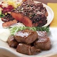 買一送一《好神》紐西蘭草飼肋眼沙朗牛排+PS鮮切嫩肩骰子牛5件組(牛排4+骰牛6《共10件》)